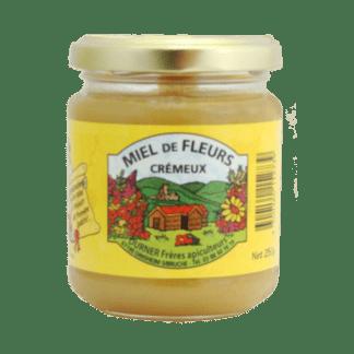 Miel de fleurs crémeux 250g