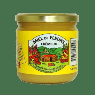 Miel de fleurs crémeux 500g