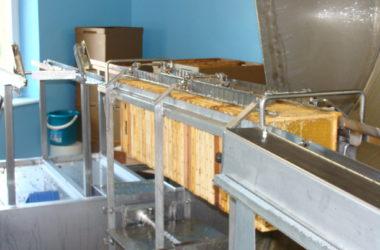 Extraction cadres de miel par la force centrifuge