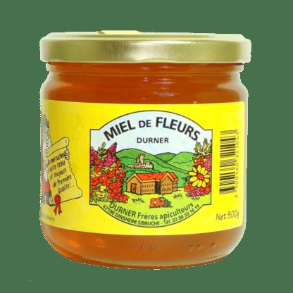 Miel de Fleurs en 500g