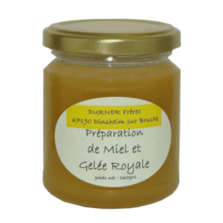 Miel à la gelée Royale 260g