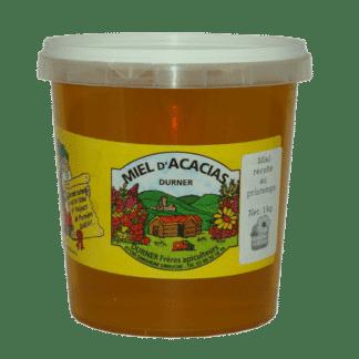 Miel d'Acacia 1kg en plastique