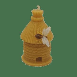 Bougie Ruche en cire d'abeille